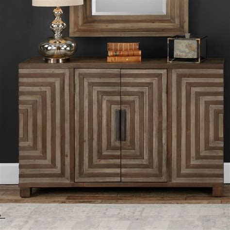 Cleo Geometric 2 Door Accent Cabinet