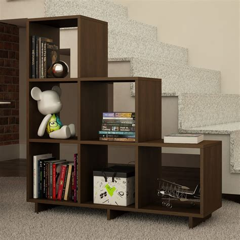 Cleo Stair Cube Unit Bookcase