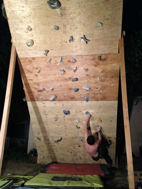 Climbing Wall Diy