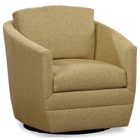 Clinard Modern Style Base Swivel Barrel Chair