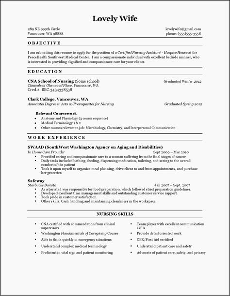 Cna Duties Resume cna cover letter sample with no experience cna cover letter my document blog Nursing Resume Duties Cna Resume Sample Certified Nursing Assistant Resume