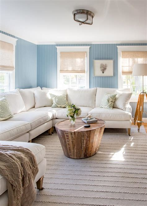 Casual Living Room Curtain Ideas Coastal Hgtv