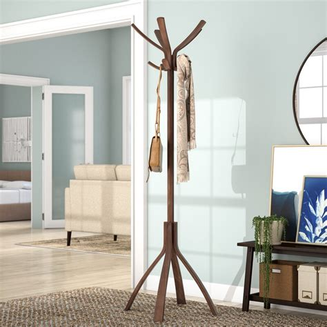 Coat Stand with 10 Pegs