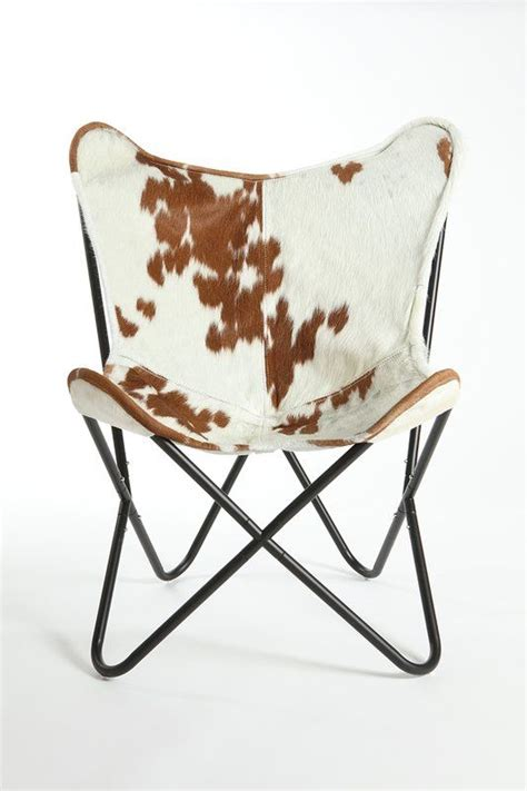 Cobham Butterfly Cowhide Lounge Chair