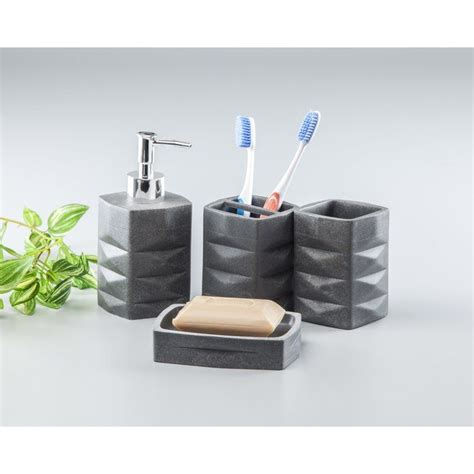 Coddington 4 Piece Bathroom Storage Set