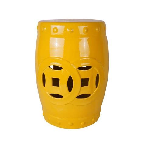 Cofer Ceramic Garden Stool