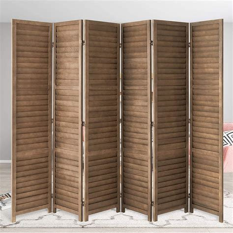 Colbey 4 Foot Tall Paneled Room Divider