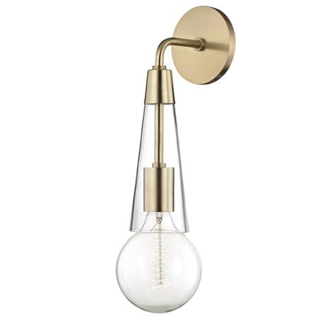 Coleman 1-Light Armed Wall Sconce