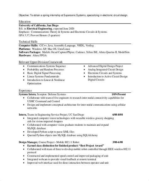 college internship resume objective examples resume objective statement examples money zine internship resume objective examples