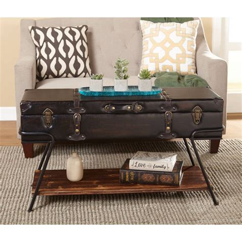 Collins Coffee Table Trunk