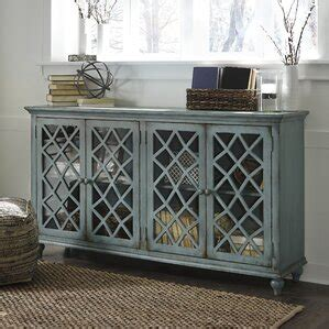 Colombier Wood Base Accent Cabinet