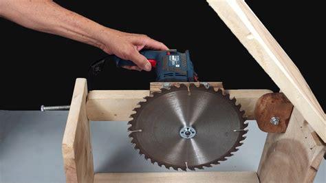 Como Fabricar Una Sierra De Mesa