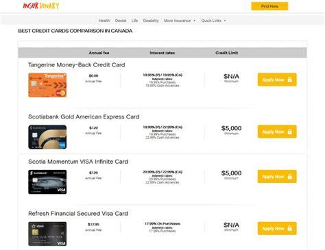 Credit Card Air Miles Comparison Canada Compare Canadas Best Credit Cards Ratesupermarket