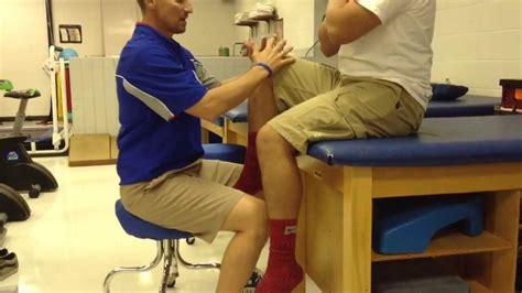 complete hip flexor tear testing machine