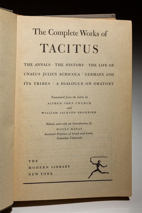 Read Books Complete Works of Tacitus Online