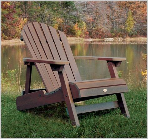 Composite Wood Adirondack Chairs
