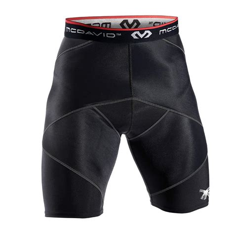 compression shorts for hip flexor