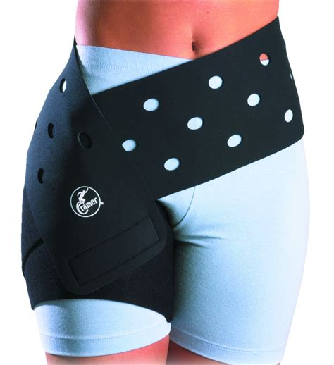 compression shorts for hip flexor injury wrapping tape