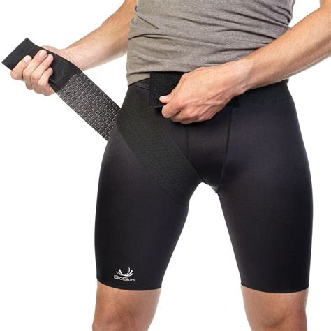 compression shorts for hip flexor injury wraps for weight