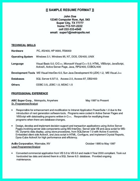 Computer Company Profile Sample Doc Sample Resume And Cover Letter Syntax Training