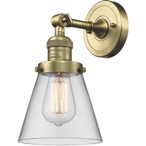 Cone Wall Sconce  Ebay.