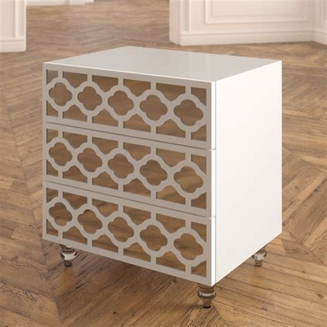 Connie 3 Drawer Nightstand