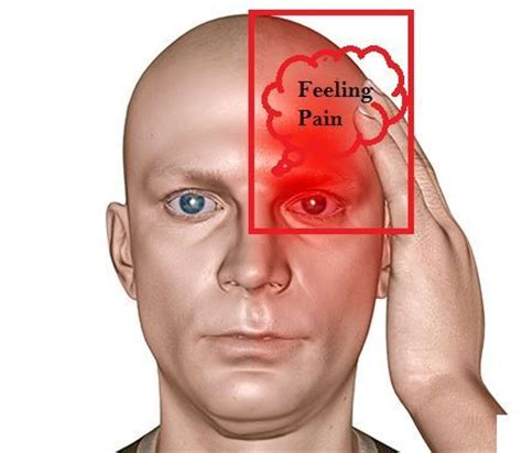 constant pain in left side of head and eye