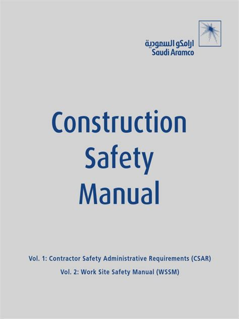 Construction Contract Administration Issues Construction Manual Volume 1 Contract Administration