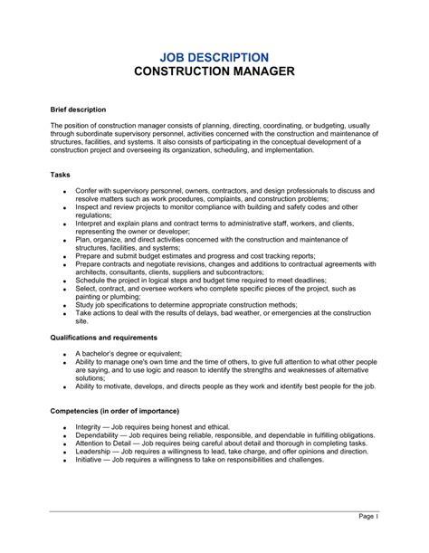 Commercial Lawyer Job Description Construction Worker Job Description How To Become A