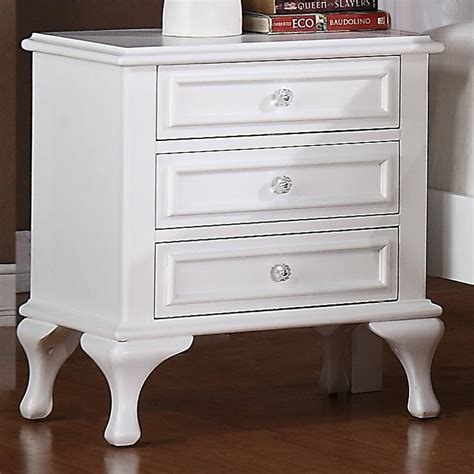Consuelo 3 Drawer Nightstand