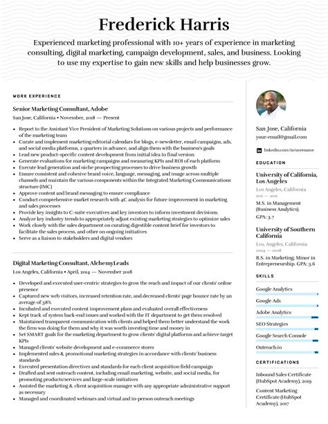 job resume financial planner resume sample with professional