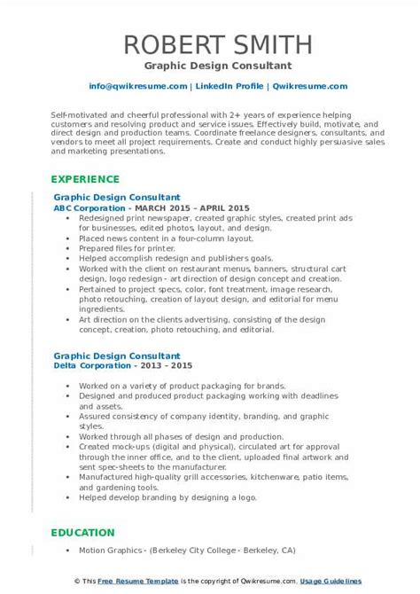 Consultant Style Resume 6 Professional Resume Examples For Consultants