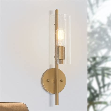 Contemporary 1-Light Bath Sconce