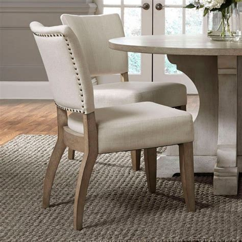 Contemporary Dakota Side Chairs (Set of 2)