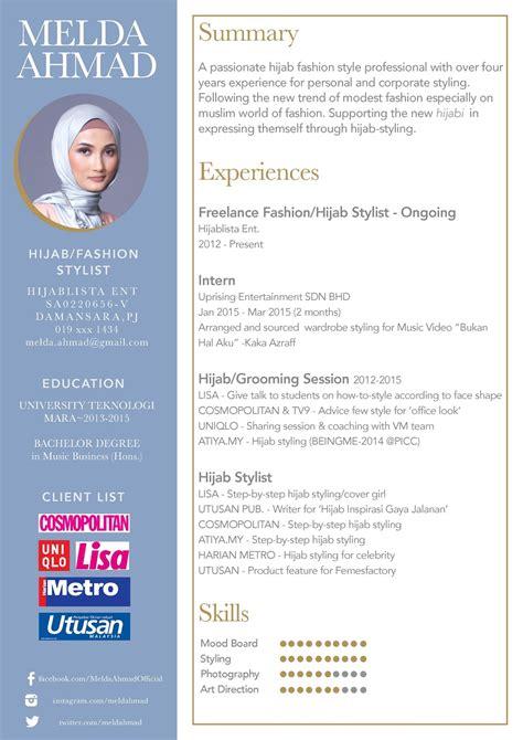 Resume Lengkap untuk Memohon Kerja  Pelajar Latihan Industri  Scribd    Contoh Resume Terbaik   Lobak Hangus