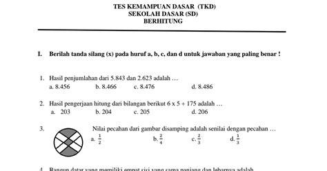 Contoh Soal Tkd Cpns Badan Tenaga Nuklir Nasional Batan 2017 Gratis  Contoh Soal Tkd Cpns Badan Tenaga Nuklir Nasional Batan