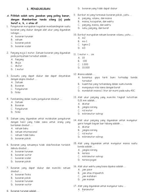 Contoh Soal Cpns Kementerian Sosial Pdf  Contoh Soal Ujian Cpns Gratis Materi Soal Ujian Cpns