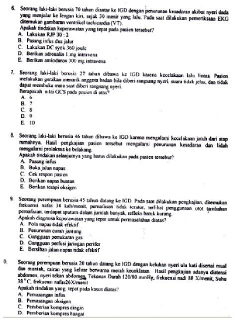 Contoh Soal Tkd Cpns Kementerian Bumn 2017  Contoh Tes Tulis Masuk Pt Suai Lowongan Kerja