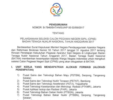 Contoh Soal Cpns Lembaga Sandi Negara Lemsaneg 2017  Contoh Soal Cpns Badan Tenaga Nuklir Nasional Batan 2017