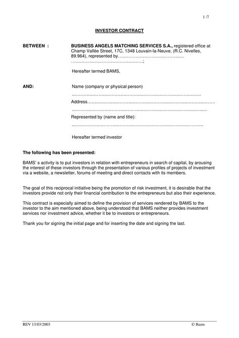 contract agreement template between two parties