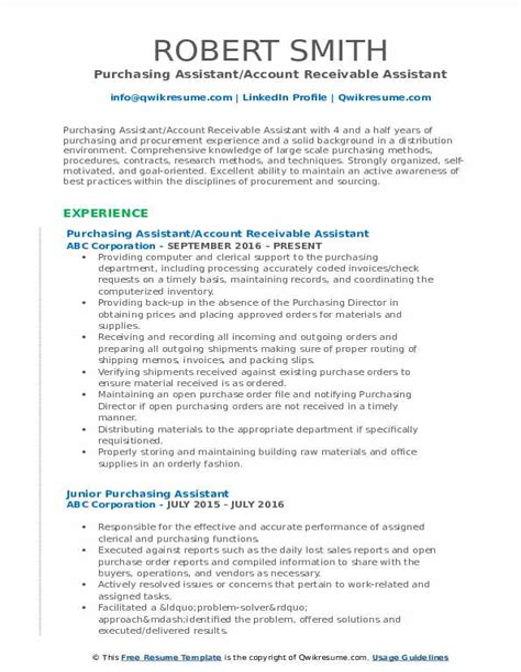 controller resume sample sample purchasing or procurement resume example - Controller Resume Samples