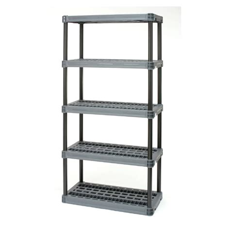 Convenient 73 H x 36 W Shelving Unit