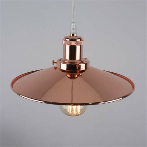 Copper Pendant Light  Ebay.
