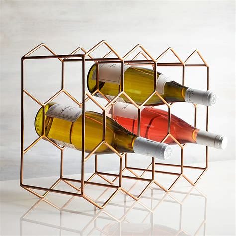 copper wine rack next