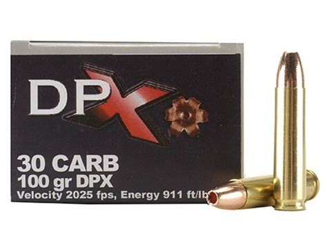 Ammunition Cor-Bon Dpx Hunter Ammunition 30 Carbine.