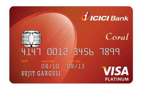 Coral Credit Card From Icici Bank Card Benefits Coral Icici Bank Canada