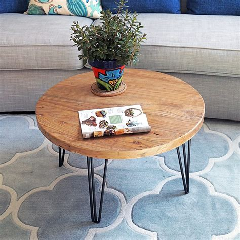 Cornelius Old Elm Rustic Coffee Table