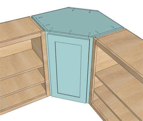 Corner Cabinet Plans Kitchen