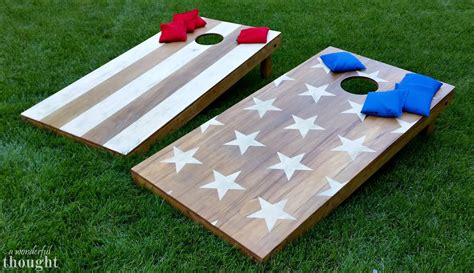 Cornhole Set Plans