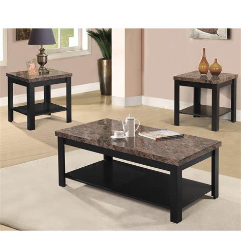 Coronado 3 Piece Coffee Table Set